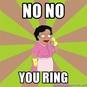 Consuela Family Guy - No no You ring