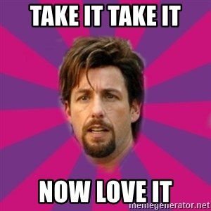 zohan - Take it take it Now love it