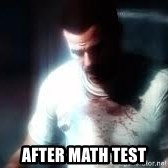 Mason the numbers???? -  after math test