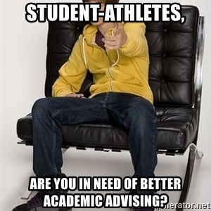 Justin Bieber Pointing - STUDENT-ATHLETES, ARE YOU IN NEED OF BETTER ACADEMIC ADVISING?