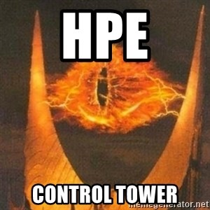 Eye of Sauron - Hpe Control tower