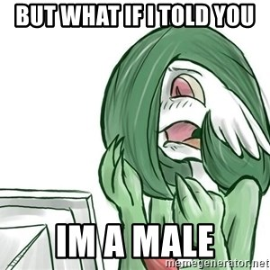 Pokemon Reaction - but what if i told you im a male