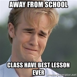 Dawson's Creek - Away from school class have best lesson ever