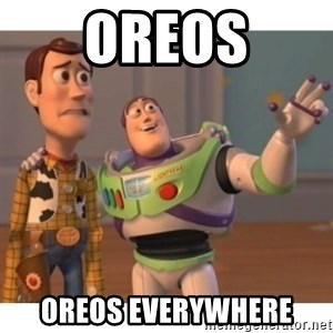 Toy story - Oreos oreos everywhere