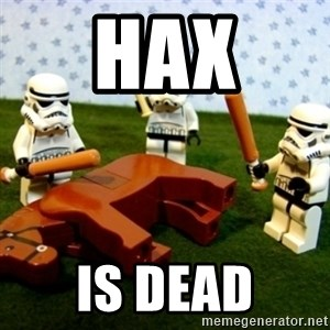 Beating a Dead Horse stormtrooper - HAX IS DEAD