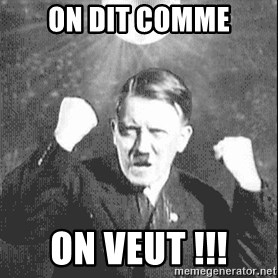 Disco Hitler - ON DIT COMME ON VEUT !!!