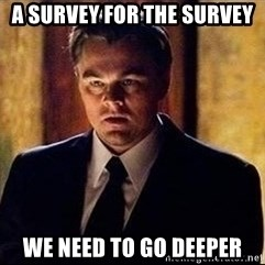 inception - a survey for the survey we need to go deeper