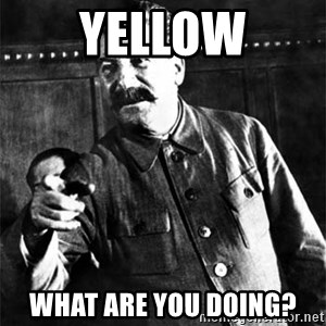 Joseph Stalin - Yellow What are you doing?
