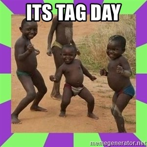 african kids dancing - Its tag day