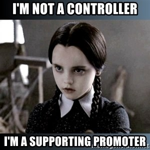 Vandinha Depressao - i'm not a controller i'm a supporting promoter