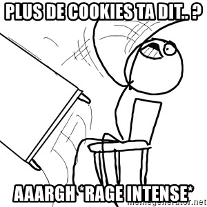 Desk Flip Rage Guy - plus de cookies ta dit.. ? AAARGH *rage intense*