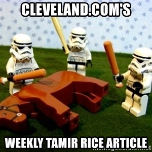 Beating a Dead Horse stormtrooper - Cleveland.com's weekly Tamir Rice article