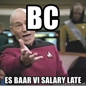 star trek wtf - Bc Es baar vi salary late