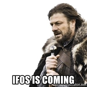 Winter is Coming -  IFOS is coming