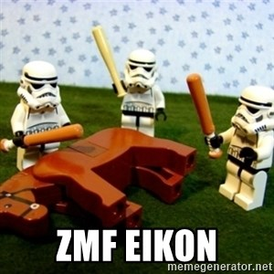 Beating a Dead Horse stormtrooper -                           ZMF EIKON