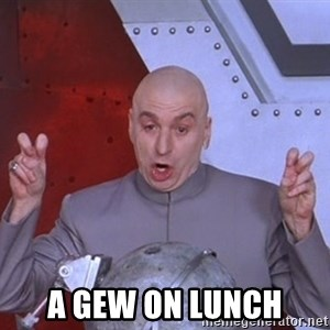 Dr. Evil Air Quotes -  A GEW ON LUNCH