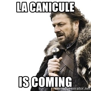 Winter is Coming - La cAnicule Is coming