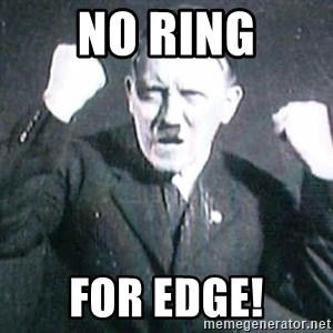 Successful Hitler - No Ring for edge!
