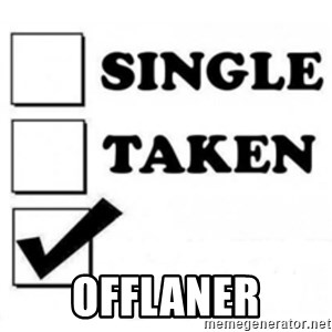 single taken checkbox -  OFFLANER