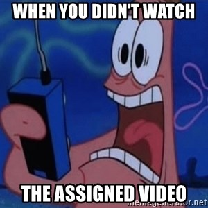 EXTRA THICC 2.0 - When you didn't watch  THE ASSIGNED VIDEO