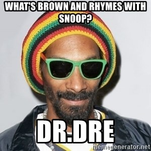 Snoop lion2 - What's Brown and Rhymes With Snoop? DR.Dre