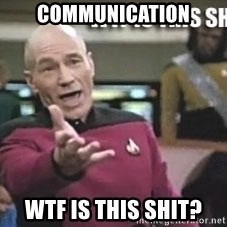 Patrick Stewart WTF - communication wtf is this shit?