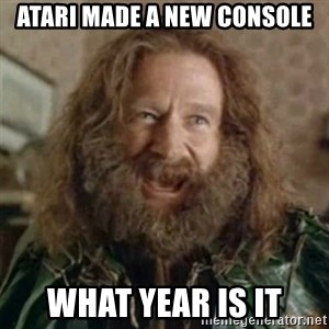 What Year - Atari made a new console What year is it