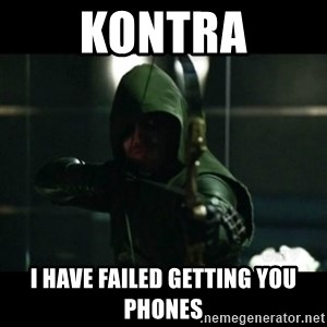 YOU HAVE FAILED THIS CITY - KONTRA I HAVE FAILED GETTING YOU PHONES