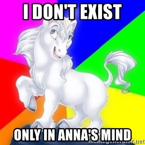 Gayy Unicorn - I DON'T EXIST ONLY IN ANNA'S MIND