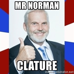 Idiot Anti-Communist Guy - Mr norman Clature
