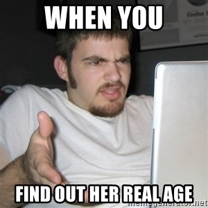 Wtf Shz - When You find out her real age