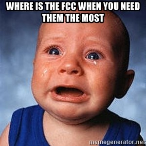 Crying Baby - Where is the fcc when you need them the most