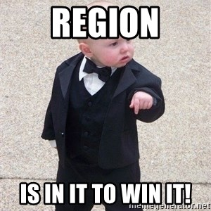gangster baby - region Is in it to win it!