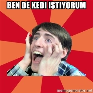 Super Excited - ben de kedı ıstıyorum