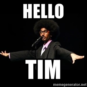 AFRO Knows - Hello Tim