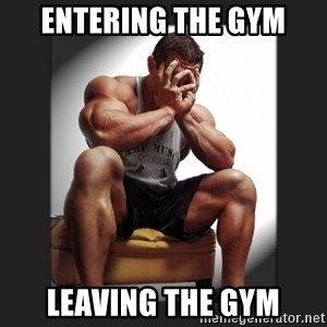 gym problems - Entering the Gym Leaving the GYm