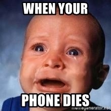 Very Sad Kid - When your Phone dieS