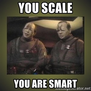 Star Trek: Pakled - You scale you are smart
