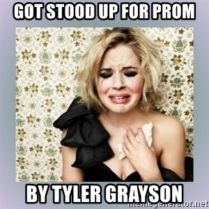 Crying Girl - Got stood up for prom By tyler grayson
