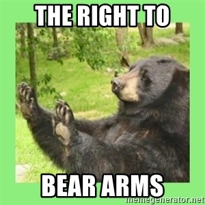 how about no bear 2 - the right to bear arms