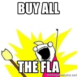 x all the y - Buy all the fla
