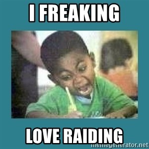 I love coloring kid - I Freaking Love Raiding