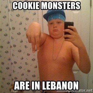 Cookie Gangster - Cookie Monsters are in lebanon
