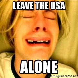 Leave Brittney Alone - Leave the usa Alone