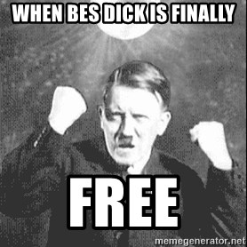 Disco Hitler - When bes dick is finally free