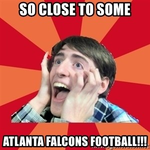 Super Excited - SO close to some Atlanta falcons football!!!