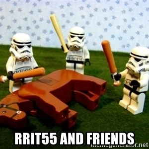 Beating a Dead Horse stormtrooper - rrit55 and friends