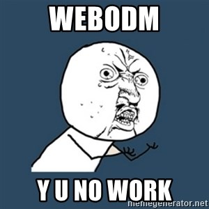 y u no work - WebODM Y U NO WORK
