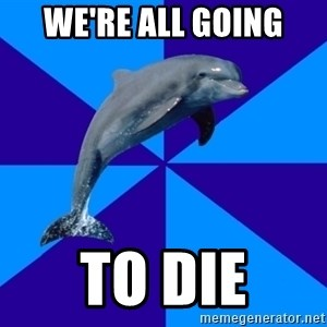 Drama Dolphin - We're all going To die