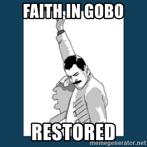 Freddy Mercury - FAITH IN GOBO RESTORED